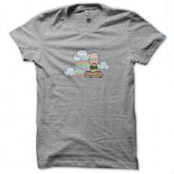 tee shirt cartoon breaking...