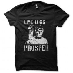 tee shirt longue vie et...