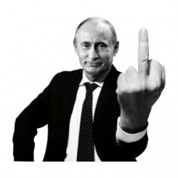 Poutine Shirt President White Sublimation