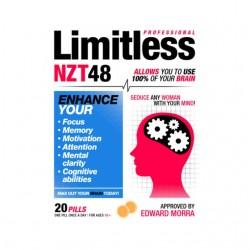 limitless shirt nzt white sublimation