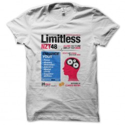 limitless shirt nzt white...