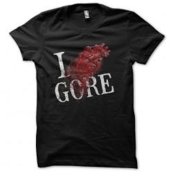 shirt i love gore black...