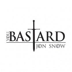shirt jon snow bastard...