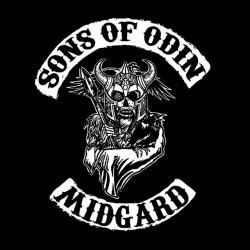 shirt Sons of odin midgard black sublimation
