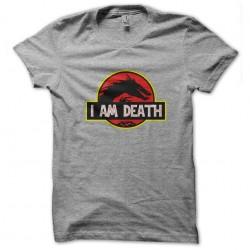 shirt I am death gray...