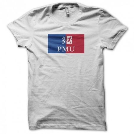 UMP t-shirt parody PMU white sublimation