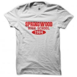 tee shirt Springwood high school 1984  sublimation