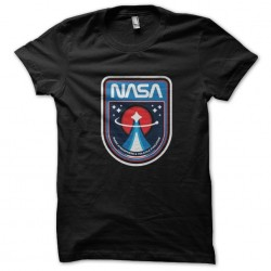 black Nasa sublimation shirt
