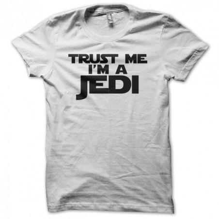 Trust Me I'm a Jedi T-Shirt white sublimation