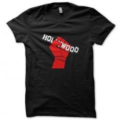 hollywood shirt at work...