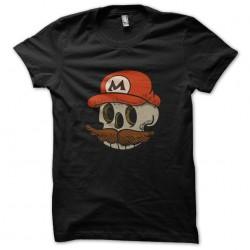 shirt mario skull black...