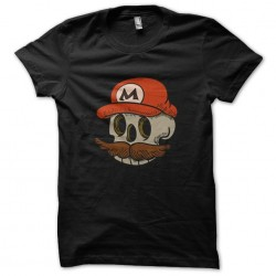 tee shirt mario skull...
