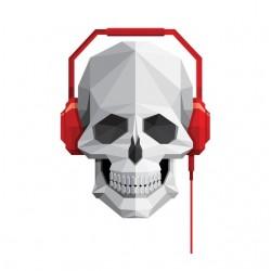 tee shirt music skull...