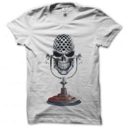 shirt micro skeleton white sublimation