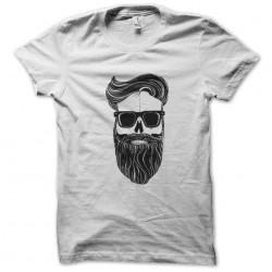 tee shirt hipster squelette  sublimation