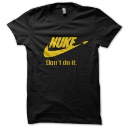 Nuke black sublimation shirt