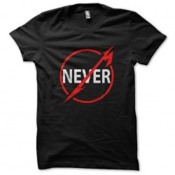 tee shirt Never sublimation