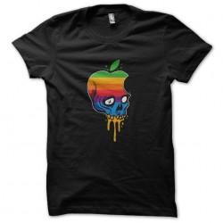 shirt skeleton apple crane...
