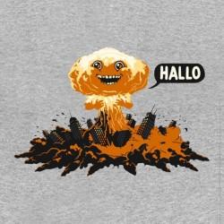 Hallo shirt explosion gray sublimation