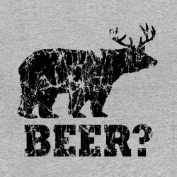 tee shirt Beer gris sublimation