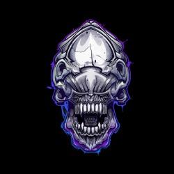 black alien sublimation shirt