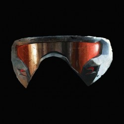 Crysis goggle black sublimation t-shirt