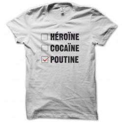 drug shirt and white...