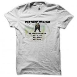 panda shirt against racism...