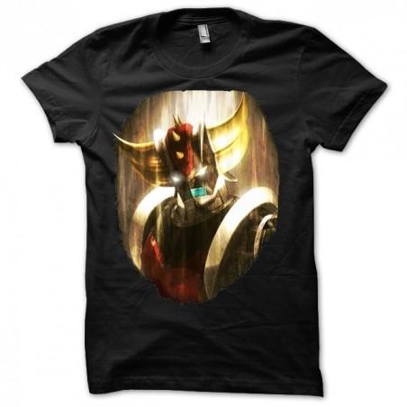 Goldorak sublimation black t-shirt