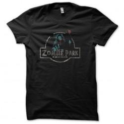 shirt zombies park black...