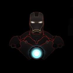 Tee shirt  Iron Man sublimation