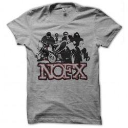gray sublimation nofx shirt