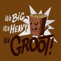 Brown Sublimation Groot Original Shirt