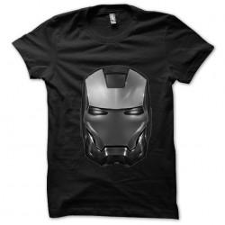 T-shirt black helmet Iron...