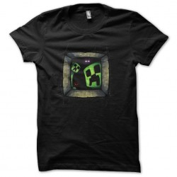 tee shirt minecraft horror...
