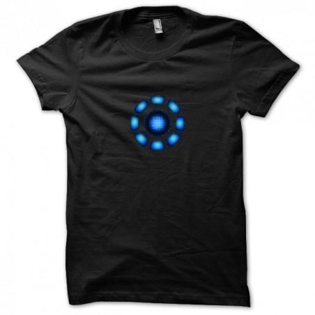 Iron Man sublimation Arc Réactor black T-shirt