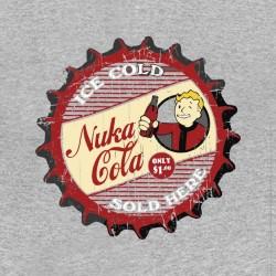 shirt nuka cola fallout gray sublimation
