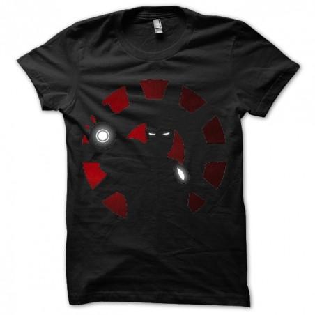 Black Iron Man t-shirt in black sublimation