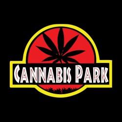 Cannabis Park black sublimation shirt