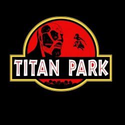 tee shirt Titan Park  sublimation