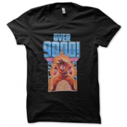 tee shirt songoku over 9000...