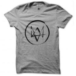 shirt dogs logo gray...