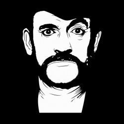 lemmy motorhead shirt vector black sublimation
