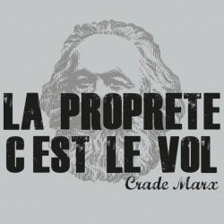 shirt Crade Marx gray sublimation