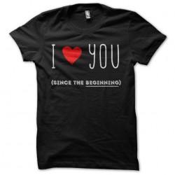 shirt I love you black...