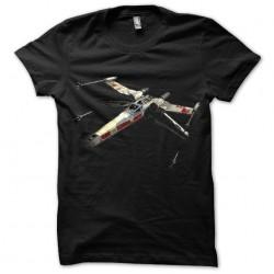 T-shirt black X Wing sublimation