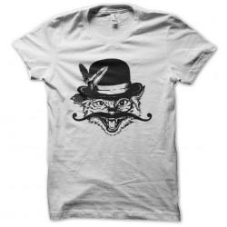 tee shirt chat moustache  sublimation