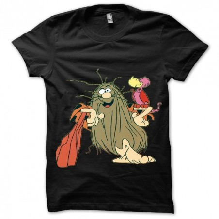 Captain Caverne sublimation black t-shirt