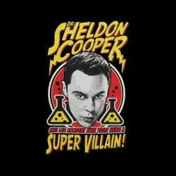 shirt sheldon cooper super villain black sublimation