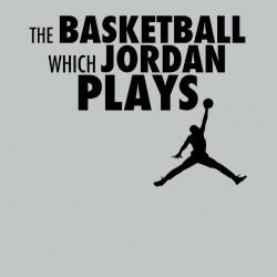 tee shirt Jordan Plays gris sublimation
